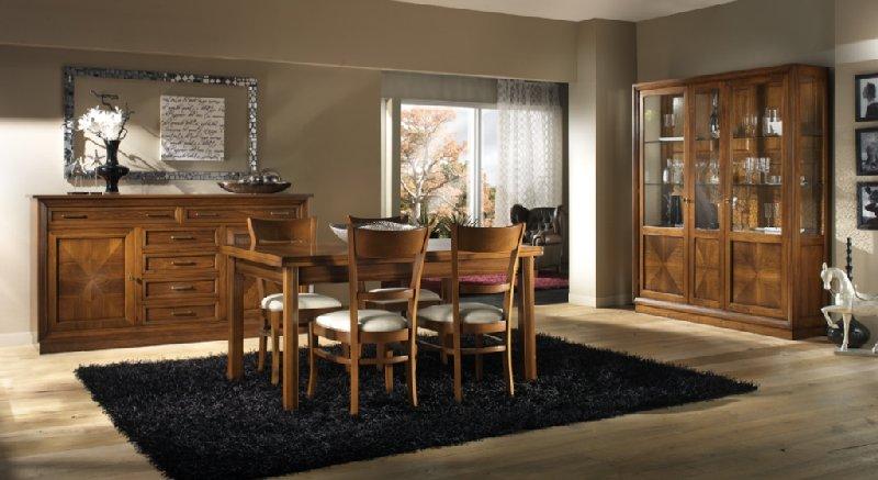 Zona giorno classico soggiorno classico soggiorno in noce for Soggiorno classico