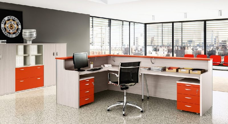 Super Arredo Ufficio, Arredo ufficio moderno, Reception GM38