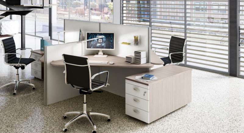 Beautiful ufficio operativo tekno with arredamento ufficio for Arredamento completo ufficio
