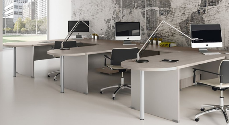 Arredo ufficio arredo ufficio moderno reception - Come arredare un ufficio moderno ...