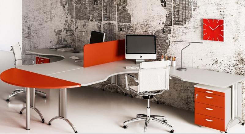Arredo ufficio moderno beautiful arredo ufficio moderno for Arredo ufficio bianco
