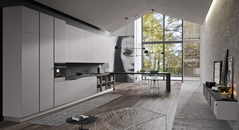Cucina moderna silkki cucina moderna cucina silkki for Immagini arredamenti moderni
