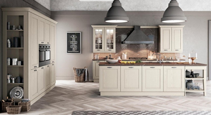 Beautiful Cucine Moderne Legno Naturale Images - Ideas & Design 2017 ...