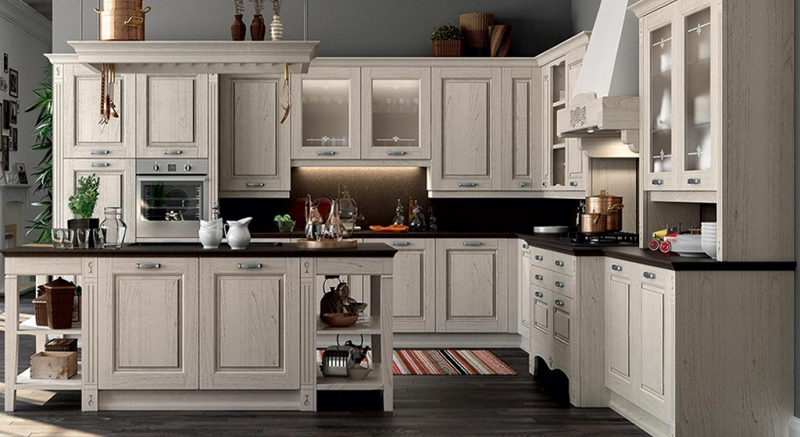 Cucine Classiche, Cucine legno massello, Legno naturale ...